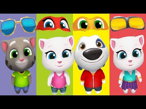 Wrong Glasses Talking Tom And Friends Finger Family Song Nursery Rhymes for Kids