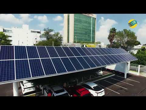 Estacionamiento Solar Universidad de Guadalajara (UDG)-Global Solare