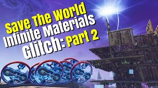 Fortnite: Save The World: Infinite Materials Glitch (Explication): Partie 2