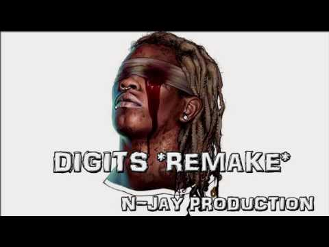 YOUNG THUG - DIGITS INSTRUMENTAL (REMAKE)