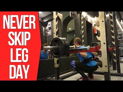 Never Skip Leg Day - Full Workout - Motivation