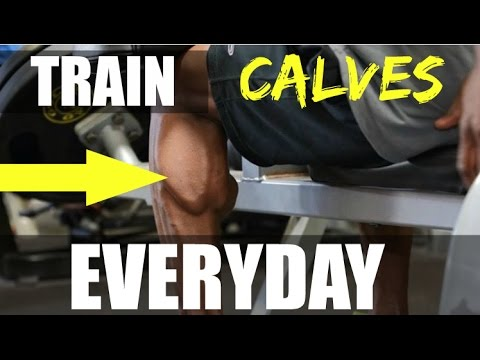 how to build bigger calves and ankles