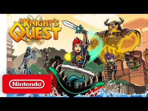 A Knight's Quest - Launch Trailer - Nintendo Switch