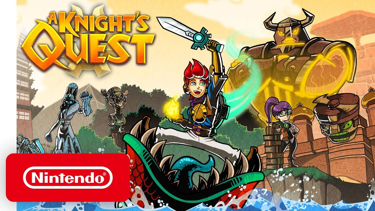 Δείτε το αλα Zelda launch trailer του A Knight's Quest