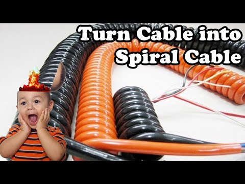 💻 Turn any Cable into a Spiral Cable (Dr. NOOB\'s Lab) - YouTube