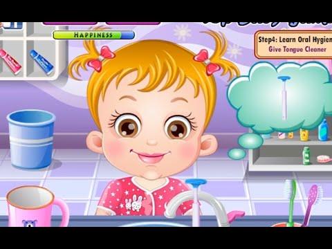 Baby Hazel Movie Games - Baby Hazel Learn Dental - 2015 HD