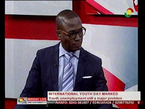 Discussing International Youth Day & unemployment being a major challenge - 12/8/2016