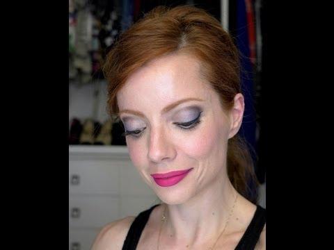 Julia Petit Passo a Passo Azul e rosa Maquiagem