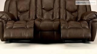 Blake Walnut Living Room Furniture From Millennium By Ashley