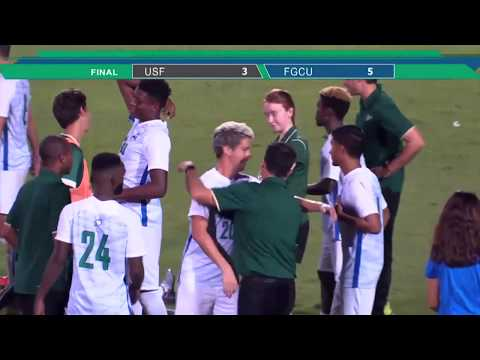 @FGCU_MSoccer has five goals on the night against USF