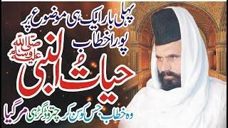 Allama Abdul Hameed Chishti Sb HAYAT UN NABBI saw Mouza slaray
