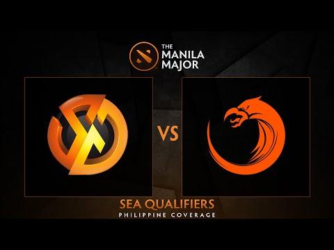 Signature.Trust vs TNC Pro Team - Game 1 - The Manila Major SEA Qualifiers - Philippine Coverage