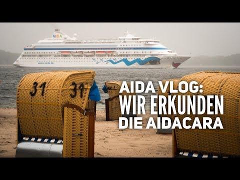 AIDA Vlog: AIDAcara Rundgang - Die Highlights des Schiffes