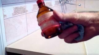 Плинтус для столешницы на кухне.(Плинтус для столешницы, делаем самостоятельно из обычного пластикового внутреннего уголка для плитки..., 2014-11-21T16:20:35.000Z)