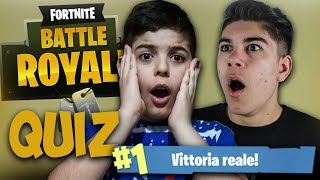 MY FRATELLO fait LE QUIZ sur FORTNITE!