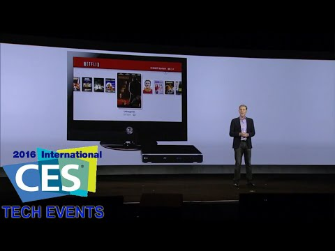 CES 2016 Netflix Press Conference Reed Hastings Keynote P1