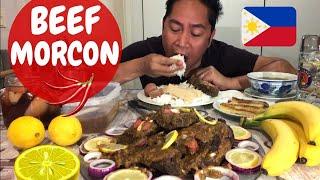 UNLIMITED BEEF MORCON!!! Filipino Food.MUKBANG atibapa.