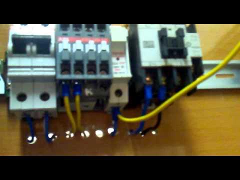 sơ đồ đấu nối PLC, Biến tần, contactor