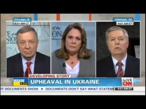 Graham Obama  Has Got To Stop Going on TV and Threatening Putin