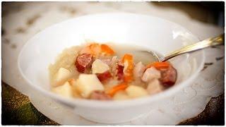 Cabbage Soup - Kapusniak - Ania's Polish Food Recipe #35