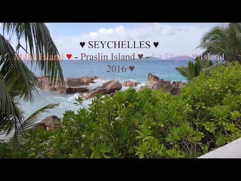 SEYCHELLES What To Do -  Mahé Island   Praslin Island   La Digue Island 2016 ♥ GoPro 5