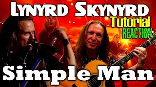 Vocal Coach Reaction Tutorial And Demonstration | Lynyrd Skynyrd | Simple Man | Live | Ken Tamplin