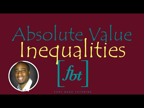 Solving Absolute Value Inequalities [fbt]