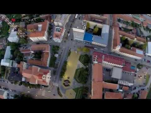 Dron snimio ceo Zrenjanin - pronađite svoju kuću ili zgradu