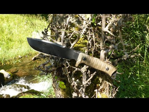 Fox Knives Combat Jungle Knife Review
