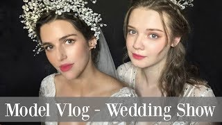 Model Vlog in Korea | Come to a Wedding Show with me | Grace Dew Wedding Dresses | Maria Maria