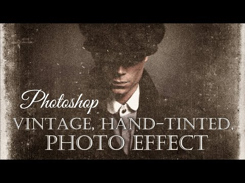 Photoshop CC: How To Create The Look Of Vintage, Hand-Tinted Photos