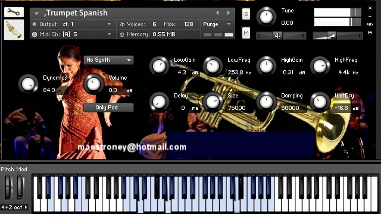 trumpet kontakt download
