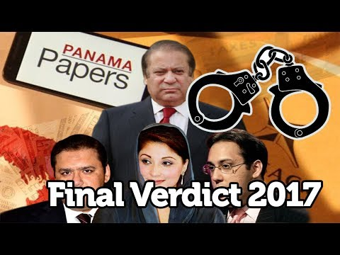 SC disqualifies PM Nawaz in Panamagate case 2017