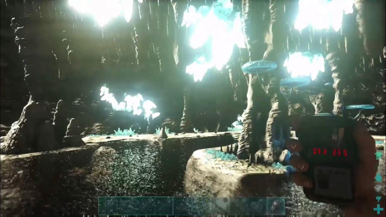 Ark: Best Underwater Cave On Ragnarok Map! (Ark Survival Evolved)