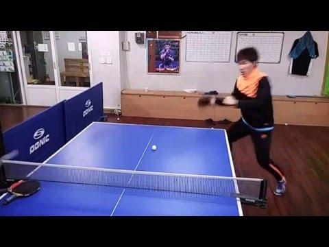 2016.02.05 Duho-dong, Pohang-si, South Korea.(Table Tennis lesson)