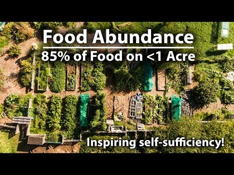 Growing 85% of Their Food on UNDER 1 Acre!