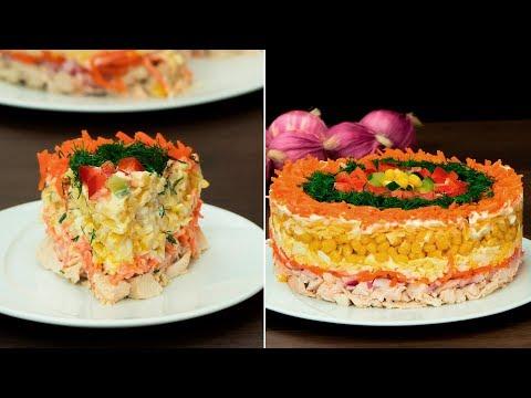 salade-délicieuse-«-fantaisie-»-facile---c'est-la-fraîcheur-d'un-repas-de-fête.-|-savoureux.tv