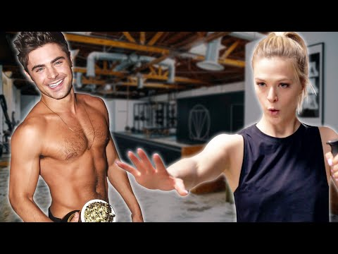 We Worked Out Like Zac Efron For A Week
