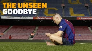[BEHIND THE SCENES] Andrés Iniesta's last week at Barça