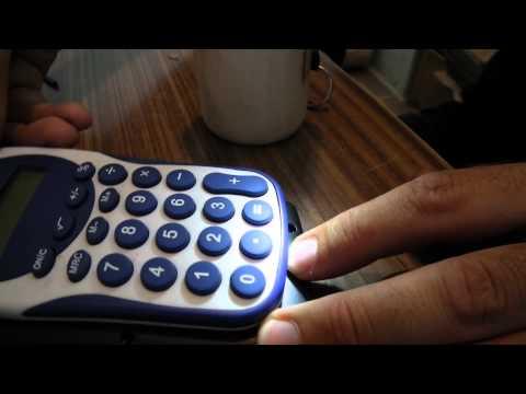видео: счетчик оборотов из калькулятора
