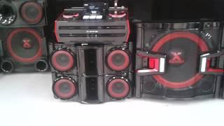 Nuevo LG® X-BOOM PRO CM9940 -  (Probando Sonido y Efectos Dj)