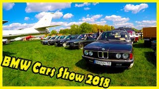 BMW Cars Show 2018. Classic and Old German Cars from the 70s and 80s. OldCarLand 2018