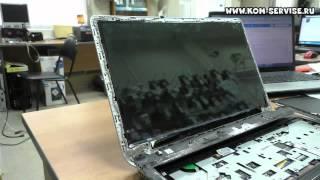 Экран светится белым. Замена матрицы ноутбука  HP Pavilion m6.(, 2015-06-27T10:22:15.000Z)