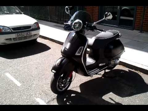 2011 vespa gts 300 super sport youtube. Black Bedroom Furniture Sets. Home Design Ideas