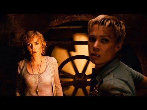 Роуз и Сибил Беннет сталкиваются с Пирамидоголовым. Сайлент Хилл