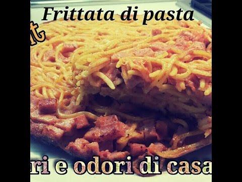 Ricetta del Giorno Frittata di Pasta,Recipe of the Day Pasta Frittata