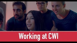 Working at CWI thumbnail