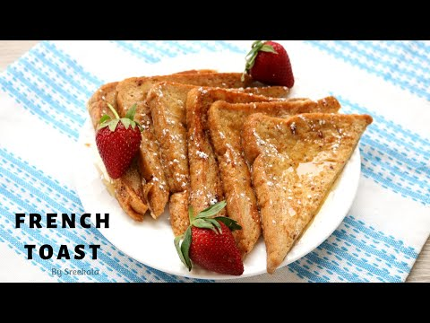 How to make Classic French Toast | Quick and Easy Kids Tiffin recipe