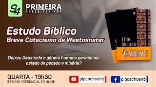 ✅Quarta 16/06 às 19h30   Estudo Bíblico Semanal Presencial