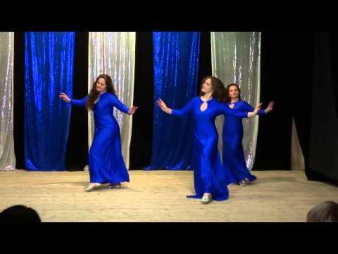 Отчетный концерт студии Джинан. Иракский танец.